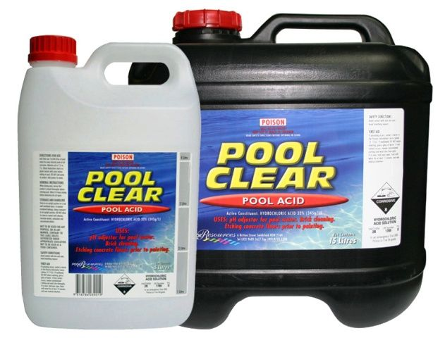 Hydrochloric acid hcl important uses applications - How to use muriatic acid in swimming pools ...