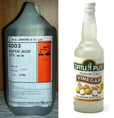 what acid in vinegar