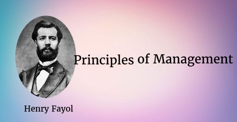henry fayols administrative theory
