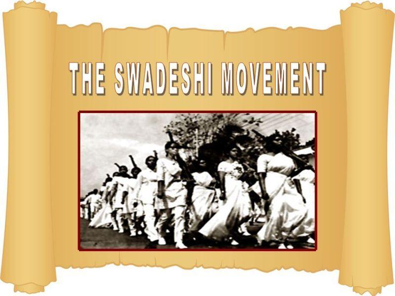 write an essay on swadeshi and boycott movement