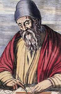 Euclid- regarded as father of geometry
